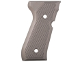 Product detail of AlumaGrips Grips Beretta 92FS Checkered Aluminum