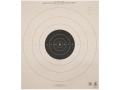 Product detail of NRA Official Pistol Targets B-6 50 Yard Slow Fire Tagboard Pack of 100