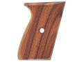 Product detail of Hogue Fancy Hardwood Grips Sig Sauer P230, P232 Checkered