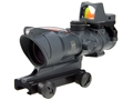Product detail of Trijicon ACOG TA31-RMR BAC Rifle Scope 4x 32mm Dual-Illuminated with 3.25 MOA RMR Red Dot Sight and TA51 Flattop Mount Matte