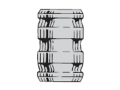 Thumbnail Image: Product detail of Saeco 3-Cavity Bullet Mold #348 38 Special, 357 M...
