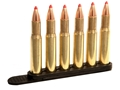 Product detail of Tuff Products Quickstrip 30-30, 410 Bore Shotgun, 44, 45, 458 Lott, 458 Win Mag, 460, 50AE, 410 Shotgun 6 Round Polymer Package of 2 Black