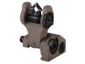 Product detail of Troy Industries Rear Flip-Up Battle Sight Di-Optic Aperture (DOA) AR-15 Aluminum
