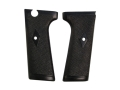 Product detail of Vintage Gun Grips Webley Mark I Semi-Automatic with Escutcheon Polymer Black