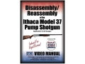 "Product detail of American Gunsmithing Institute (AGI) Disassembly and Reassembly Course Video ""Ithaca Model 37 Pump Shotgun"" DVD"