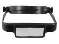 Product detail of Donegan Optical OptiSIGHT Magnifying Headband Visor with 3 Lens Plates, Black