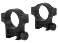 Product detail of Trijicon 30mm Accupoint Steel Picatinny-Style Rings Matte High