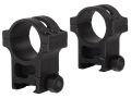 Product detail of Trijicon 30mm Accupoint Steel Heavy Duty Picatinny-Style Rings Matte Extra High