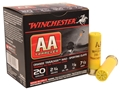 "Product detail of Winchester AA TrAAcker Ammunition 20 Gauge 2-3/4"" 7/8 oz #7-1/2 Shot Orange Wad"