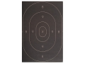 Product detail of NRA Official Silhouette Targets Repair Center B-27C 50-Yard Paper Black Package of 100