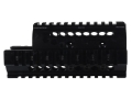 Product detail of Midwest Industries 2-Piece Handguard Quad Rail Yugo AK-47 Aluminum Black