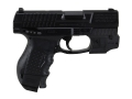 Product detail of Walther CP99 Compact Air Pistol 177 Caliber Blue with Laser Sight
