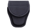 Product detail of Bianchi 7300 Covered Handcuff Case Hidden Snap Closure Nylon Black
