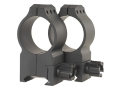 Product detail of Warne 30mm Tactical Picatinny-Style Rings Matte Extra-High