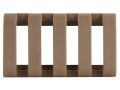 "Product detail of Yankee Hill Machine Low Profile Picatinny Rail Cover 1-3/4"" Polymer Flat Dark Earth"