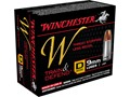 Product detail of Winchester W Defend Reduced Recoil Ammunition 9mm Luger 147 Grain Jacketed Hollow Point
