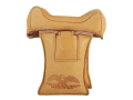 Product detail of Protektor Wide Owl Ear Straddle Shooting Rest Bag Leather Tan Filled