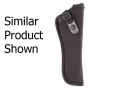 "Product detail of GunMate Hip Holster Right Hand Large Frame Semi-Automatic 4"" Barrel Tri-Laminate Nylon Black"