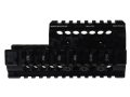 Product detail of Midwest Industries 2-Piece Handguard Quad Rail Kel-tec PLR-16, PLR-22 Aluminum Black