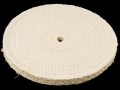 "Product detail of Formax 8"" Diameter 3/8"" Thick Spiral Sewn Sisal Buffing and Polishing Wheel With 5/8"" Arbor Hole"