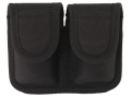 Product detail of Bianchi 7301 Speedloader Pouch Medium Frame Revolver Hidden Snap Closure Nylon Black