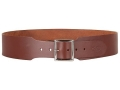 "Thumbnail Image: Product detail of Hunter Belt 2-1/2"" Wide Leather Antique Brown"