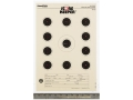 "Product detail of Champion Score Keeper 50 Ft Air Gun Small Bore Target 11"" x 16"" Paper Orange Bull Package of 12"