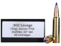Product detail of Doubletap Ammunition 300 Savage 150 Grain Barnes Tipped Triple-Shock X Bullet Lead-Free Box of 20