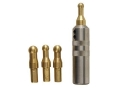 Product detail of R W Hart Barrel Muzzle Crown Lapping Tool Complete Set with 4 Inserts for 22 to 35 Caliber
