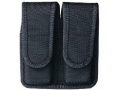 Product detail of Bianchi 7302 Double Magazine Pouch Glock 20, 21, HK USP 40, 45 Velcro Closure Nylon Black
