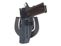 Product detail of BlackHawk Serpa Sportster Paddle Holster Left Hand Glock 19, 23, 32, 36 Polymer Gun Metal Gray