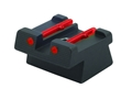 Product detail of HIVIZ Rear Sight HK USP Full-Size, USP Compact Steel Fiber Optic