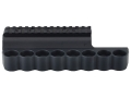 Product detail of Mesa Tactical Sureshell Shotshell Ammunition Carrier with Picatinny Optic Rail 12 Gauge Benelli M4, M1014 8-Round Aluminum Matte