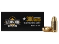 Product detail of Armscor Ammunition 380 ACP 95 Grain Full Metal Jacket Box of 50