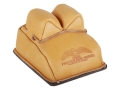 Product detail of Protektor Bunny Ear Rear Shooting Rest Bag with Heavy Bottom Leather Tan Filled
