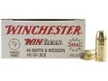 Product detail of Winchester USA WinClean Ammunition 40 S&W 165 Grain Brass Enclosed Base