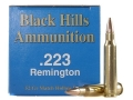 Product detail of Black Hills Remanufactured Ammunition 223 Remington 52 Grain Match Hollow Point Box of 50