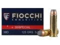 Product detail of Fiocchi Shooting Dynamics Ammunition 38 Special 125 Grain Semi-Jacketed Soft Point Box of 50