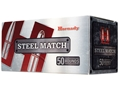 Product detail of Hornady Steel Match Ammunition 223 Remington 55 Grain Hollow Point Steel Case Box of 50