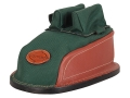 Product detail of Edgewood Minigater Rear Shooting Rest Bag Tall with Regular Ears and Wide Stitch Width Leather and Nylon Green Unfilled