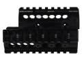 Product detail of Midwest Industries 2-Piece Handguard Quad Rail Bulgarian Krinkov AK-47, AK-74 Aluminum Black