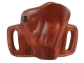Product detail of El Paso Saddlery High Slide Outside the Waistband Holster Right Hand J-Frame Leather Russet Brown