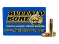 Product detail of Buffalo Bore Ammunition 357 Magnum 158 Grain Jacketed Hollow Point Bo...