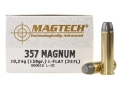 Product detail of Magtech Cowboy Action Ammunition 357 Magnum 158 Grain Lead Flat Nose