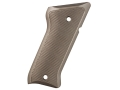 Product detail of Tactical Solutions Performance Grips Ruger Mark II, Mark III Checkered Aluminum Matte Olive Drab Green