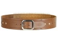 Product detail of Hunter Adjustable Cartridge Belt 22 Caliber Leather Tan