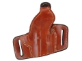 Product detail of Ross Leather Belt Slide Holster with Thumbsnap Right Hand Beretta 92 Leather Tan