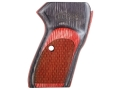 Product detail of Bersa Grips Bersa Thunder 380, Firestorm 380/22 with Bersa Logo Red Laminate