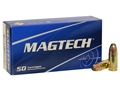 Product detail of Magtech Sport Ammunition 9mm Luger 124 Grain Jacketed Soft Point Box of 50
