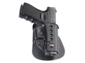 Product detail of Fobus Evolution Paddle Holster Right Hand Glock 17, 19, 22, 23, 26, 27, 33, 34, 35 Polymer Black